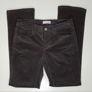 LOFT Curvy Boot Cut Baby Corduroy Pants 26/2